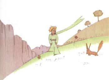 小王子和狐狸